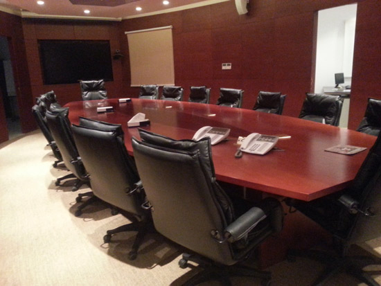 غرفة إجتماعات شركة CCC